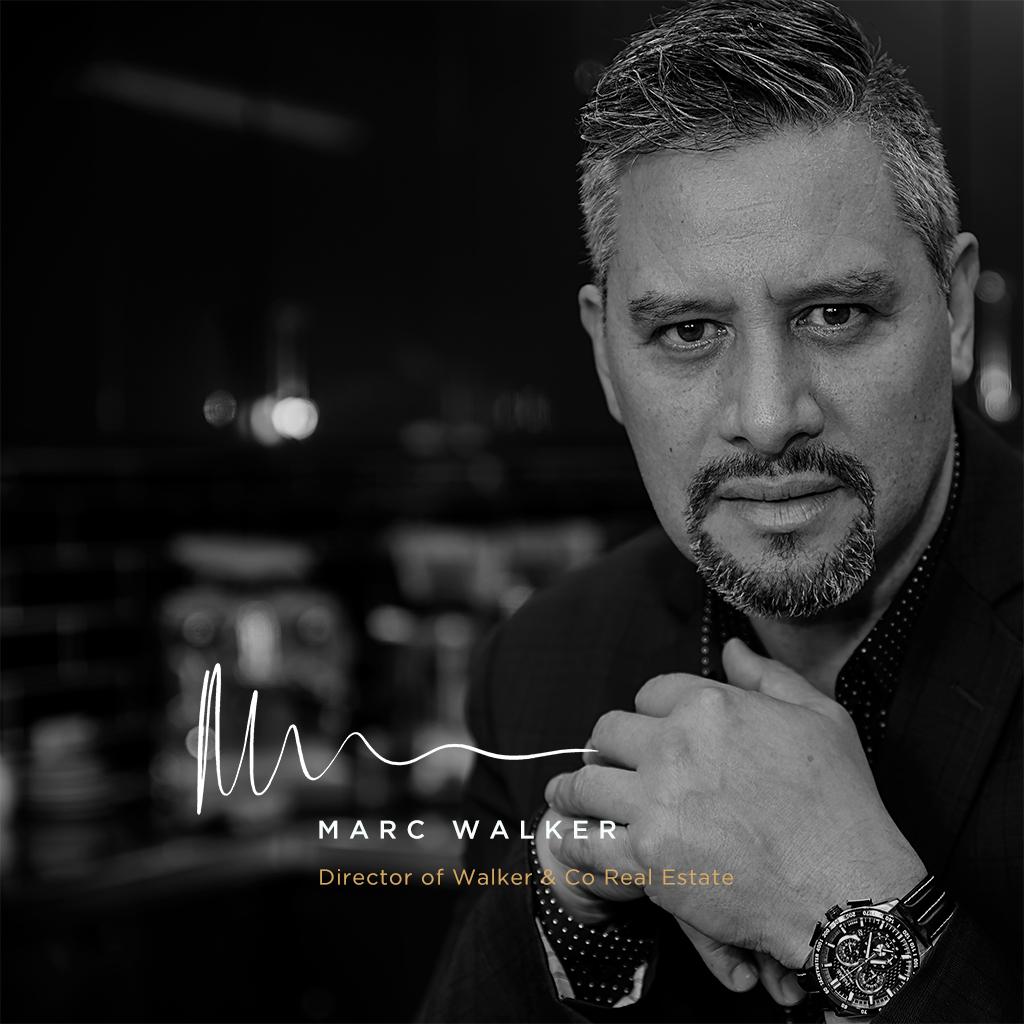 Marc black & White Home profile